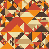 Vintage colorful seamless pattern with pyramids
