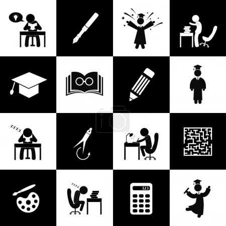 Illustration for Successful study and congratulations symbol - Royalty Free Image