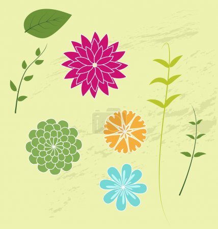 Illustration for Spring flowers - Royalty Free Image