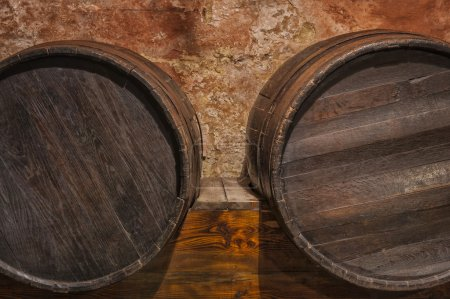 Wine cask barrels