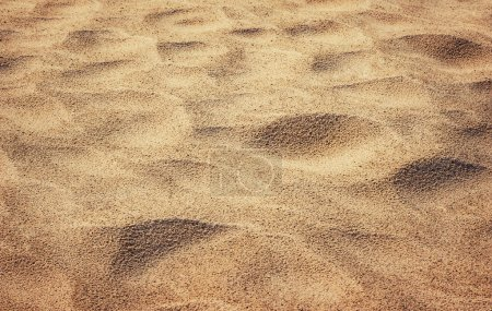 Photo for Yellow sand background - Royalty Free Image