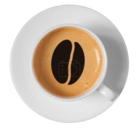 Coffee bean drawing art
