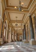 Lobby of Rudolfinum in Prague