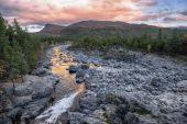 Sjoa river at Gjendesheim, Jotunheim National Park, Norway