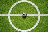 Soccer Ball On Grass Field