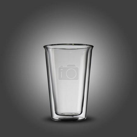 Empty transparent Glass