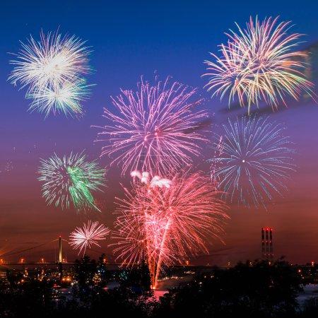 Fireworks in Halifax