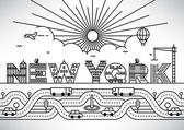 New York City Typography Design