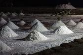 Az éjszaka a sós tengeri só