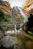 Vodopády v národním parku Blue Mountains