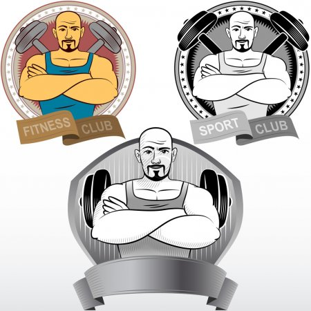 Man Fitness Sport Athletics bodybuilding