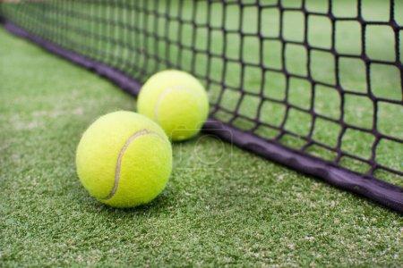 Photo pour Balles de tennis Paddle - image libre de droit