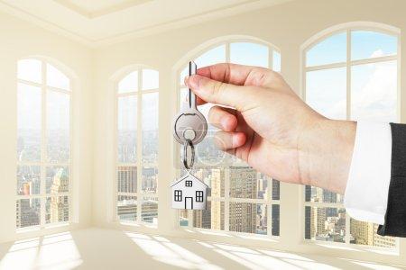 keys to the new  loft apartments