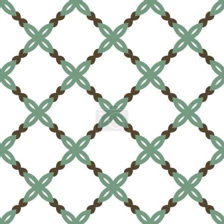 Photo pour Motif sans couture avec des formes géométriques illustration vectorielle - image libre de droit