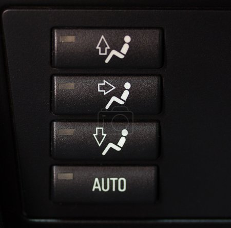 Buttons of management in the car