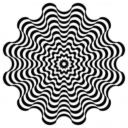 Illustration pour Modèle avec des éléments en noir et blanc - image libre de droit