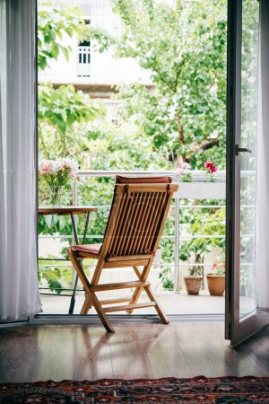 Beautiful terrace or balcony