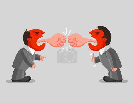 Verbal battle