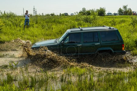 Offroad vehicle brand Jeep Cherokee
