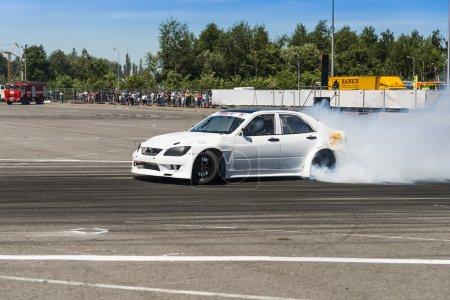 Race car brand Nissan overcome the track