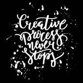 Tvůrčí proces nikdy nekončí