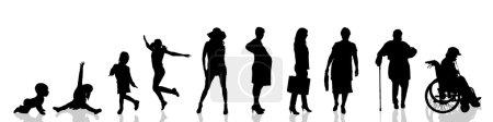 Woman as generation progresses.