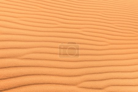 Sand desert background with wind ripple - Concept ...