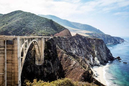 Bixby Bridge on Pacific Coast Highway PCH