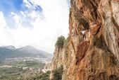 Rockclimbing in Antalya Mountains