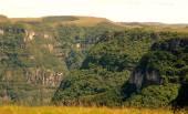 Kaňon v jižní Brazílii