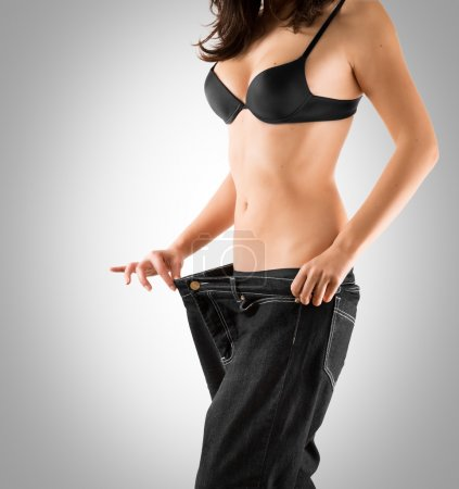 Weight loss with slim waist