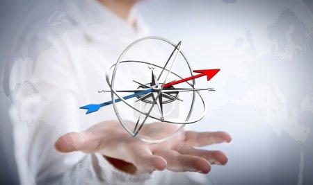 Photo pour Stratégie pour l'objectif de votre entreprise - image libre de droit