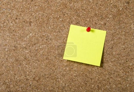 New year Blank Resolutiosn Post it note with copy space