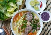 Vietnamesische Speisen, Brötchen Rieu, bunrieu, Vietnam Essen