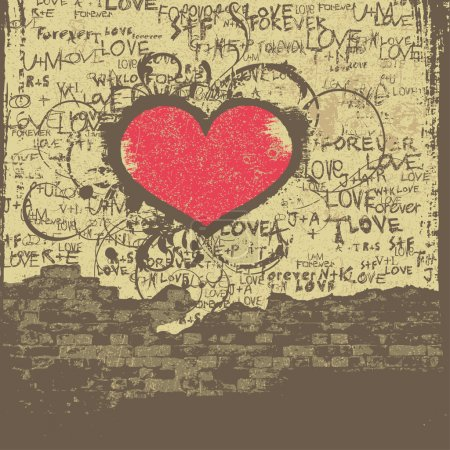 Love Valentine design