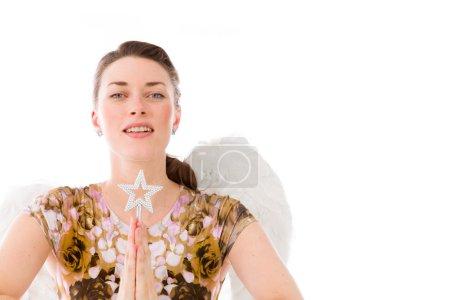 Model praying and wishing