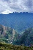 View of Machu Picchu in Cusco Region