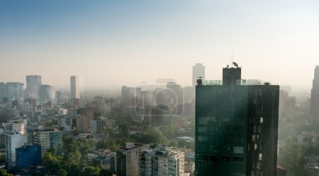 Photo for Skyline in a city of Mexico - Royalty Free Image
