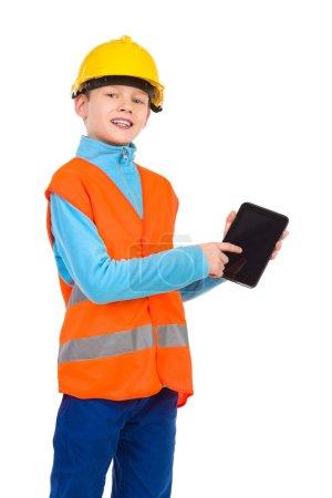 Look at my digital tablet