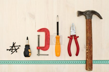 Different tools for repairing