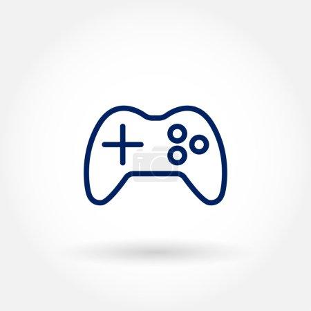 Console game pad icon
