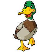 "Постер, картина, фотообои ""Duck Cartoon"""