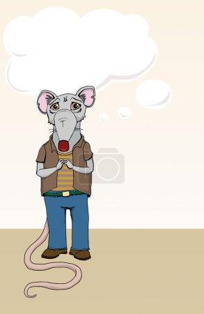 Rat cartoon character