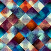 Abstract geometric pattern with diagonal strikes