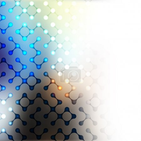 Photo for Abstract Background. Blurred Image and geometric elements - Royalty Free Image