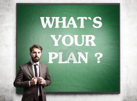 Planning concept blackboard