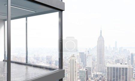 Panoramic balcony design