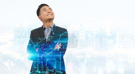 Businessman in Singapore