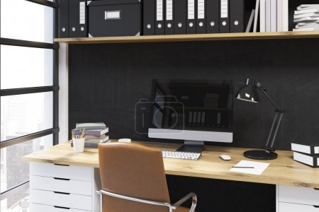 Modern office working place