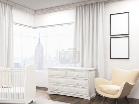 Children room in New York